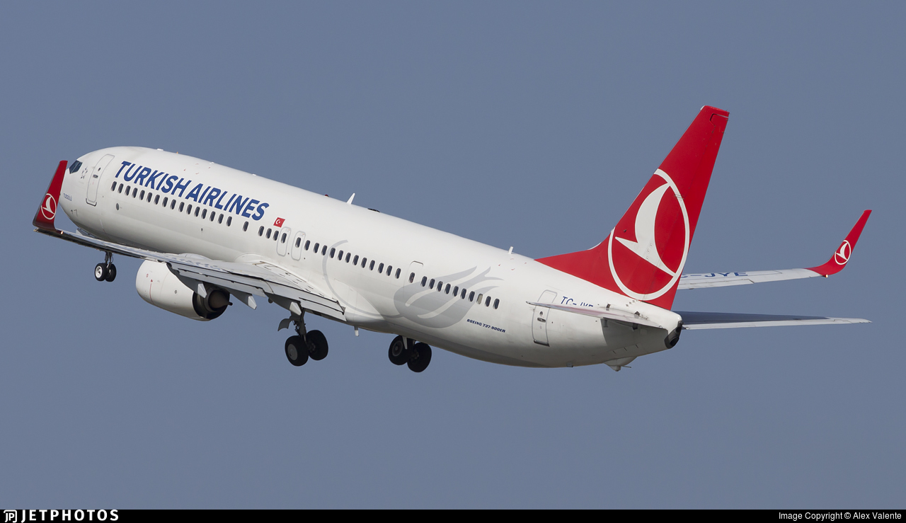 TC-JYE - Boeing 737-9F2ER - Turkish Airlines