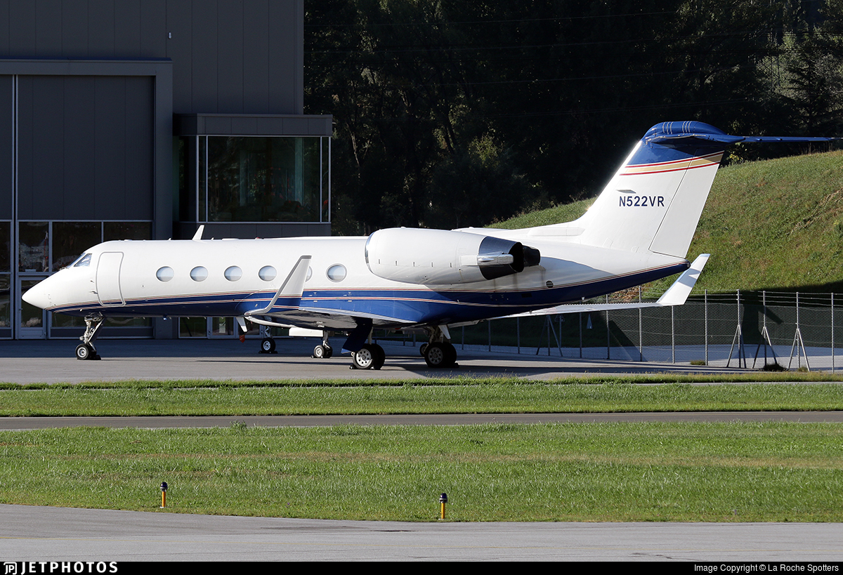 N522VR - Gulfstream G-IV - Private