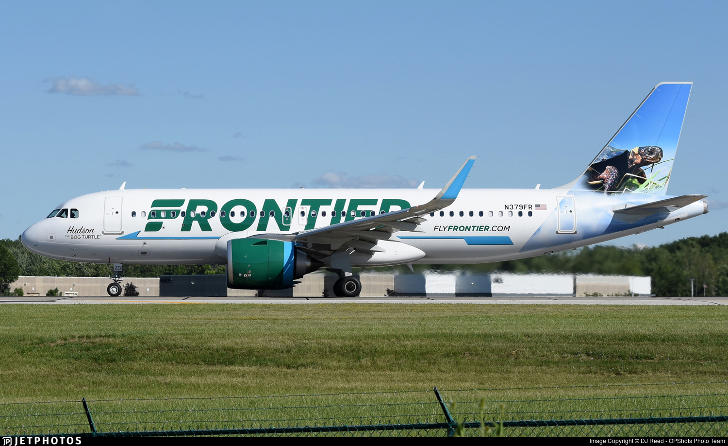 N379FR - Airbus A320-251N - Frontier Airlines