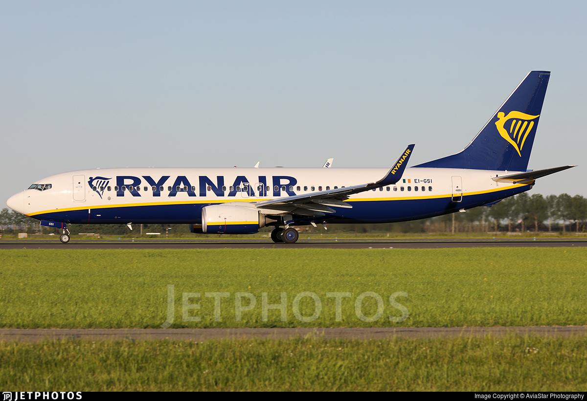 EI-GSI - Boeing 737-8AS - Ryanair