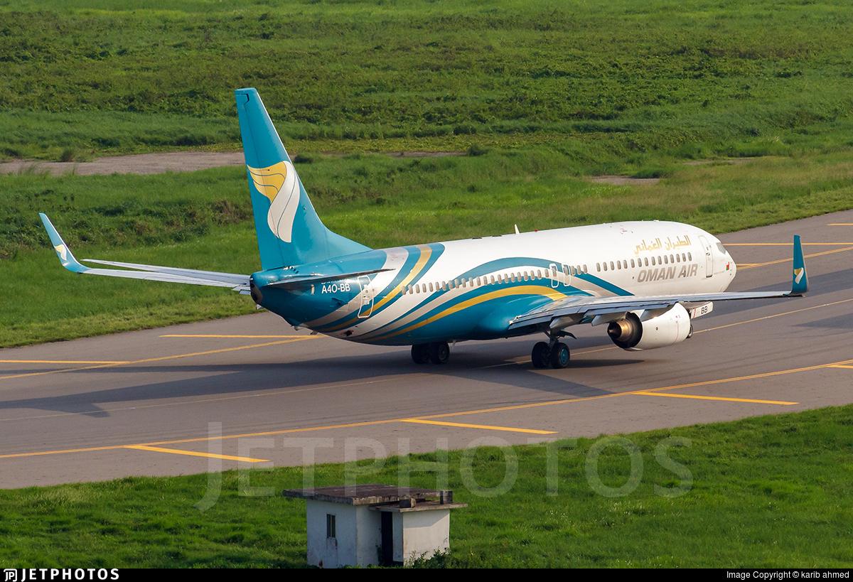 A4O-BB - Boeing 737-81M - Oman Air