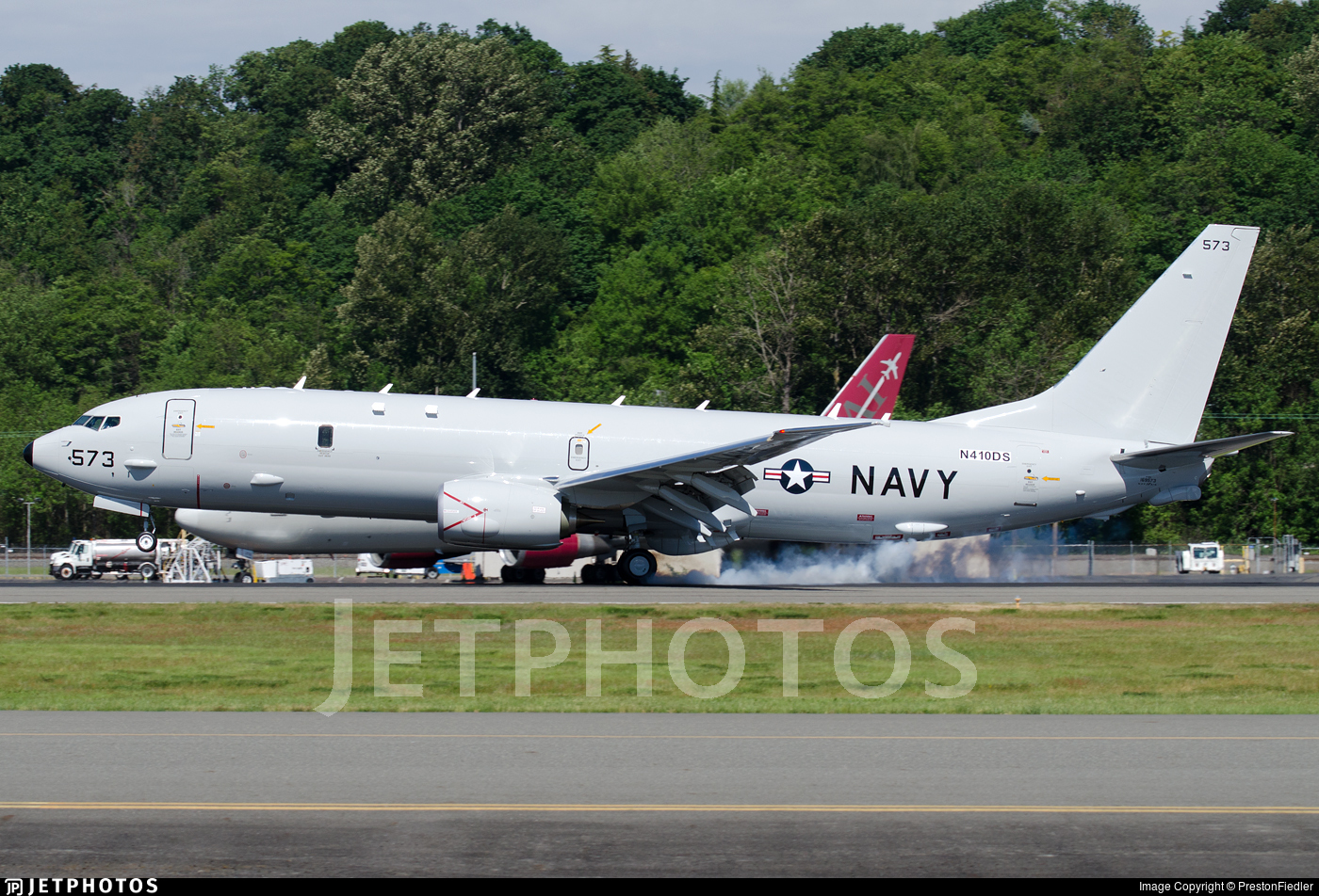 N410DS - Boeing P-8A Poseidon - United States - US Navy (USN)
