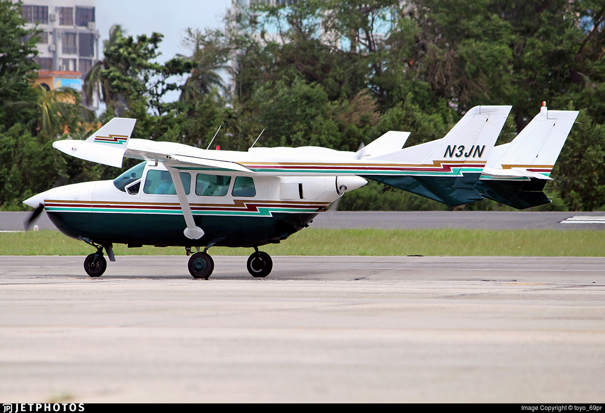 N3JN - Cessna 337B Super Skymaster - Private
