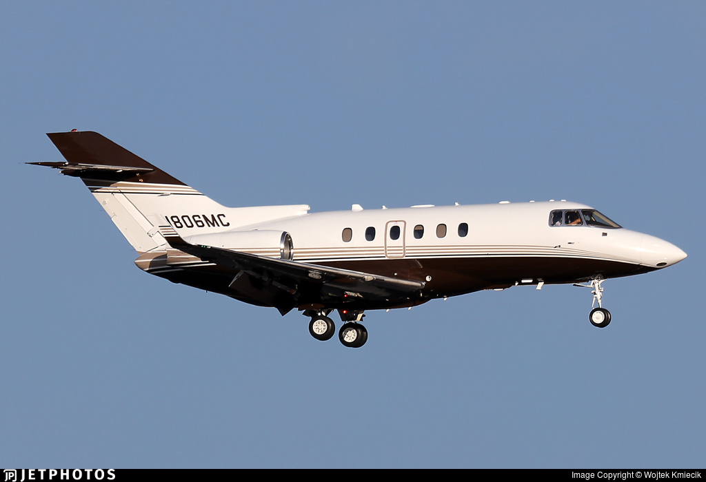 N806MC - Raytheon Hawker 850XP - Private