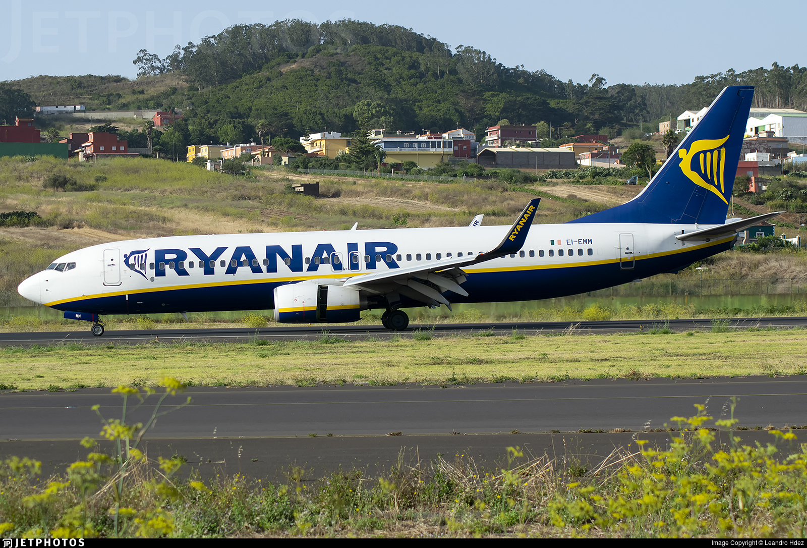 EI-EMM - Boeing 737-8AS - Ryanair