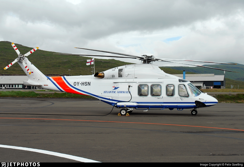 OY-HSN - Agusta-Westland AW-139 - Atlantic Airways