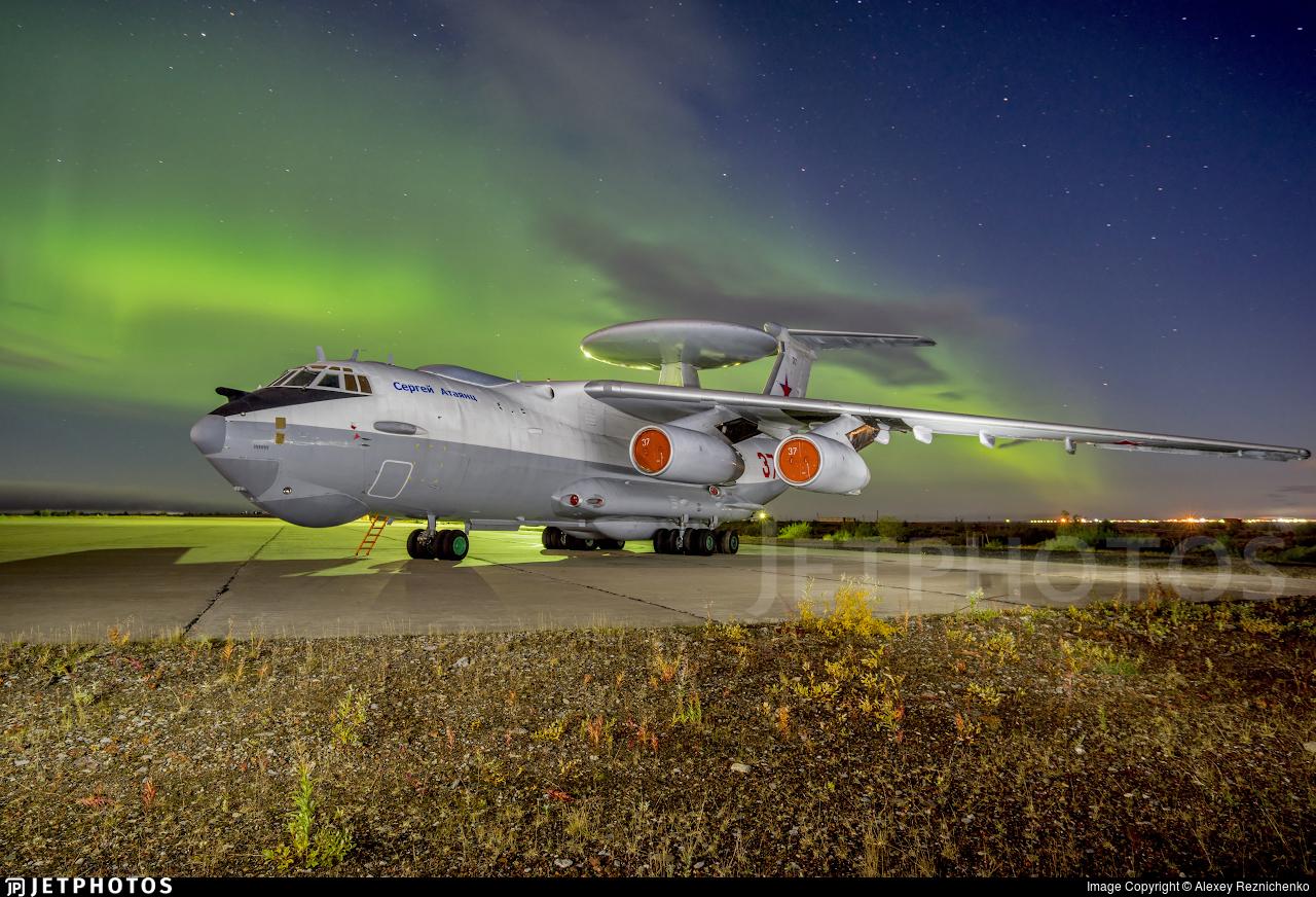 RF-93966 | Beriev A-50U Mainstay | Russia - Air Force | Alexey ...