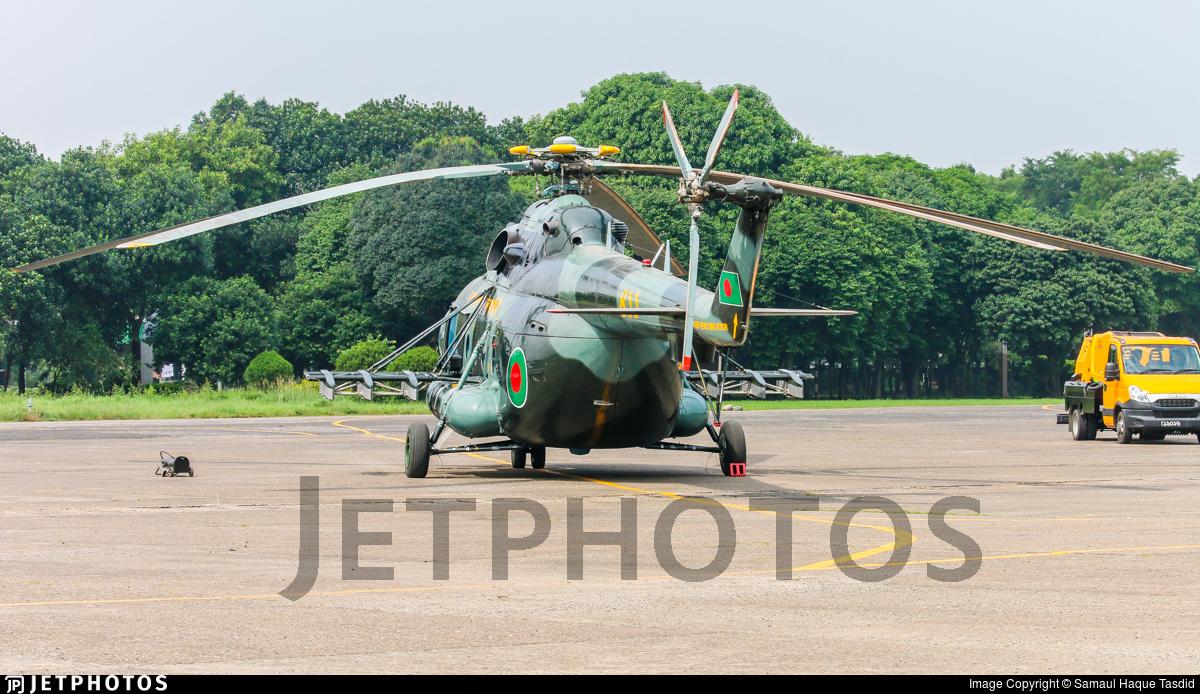 411 - Mil Mi-171Sh Baikal - Bangladesh - Air Force