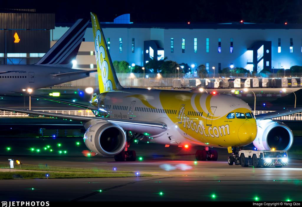 9V-OFB - Boeing 787-8 Dreamliner - Scoot