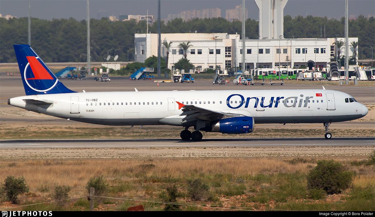TC-OBZ - Airbus A321-231 - Onur Air