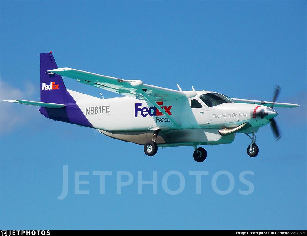 N881FE - Cessna 208B Super Cargomaster - FedEx Feeder (Mountain Air Cargo)