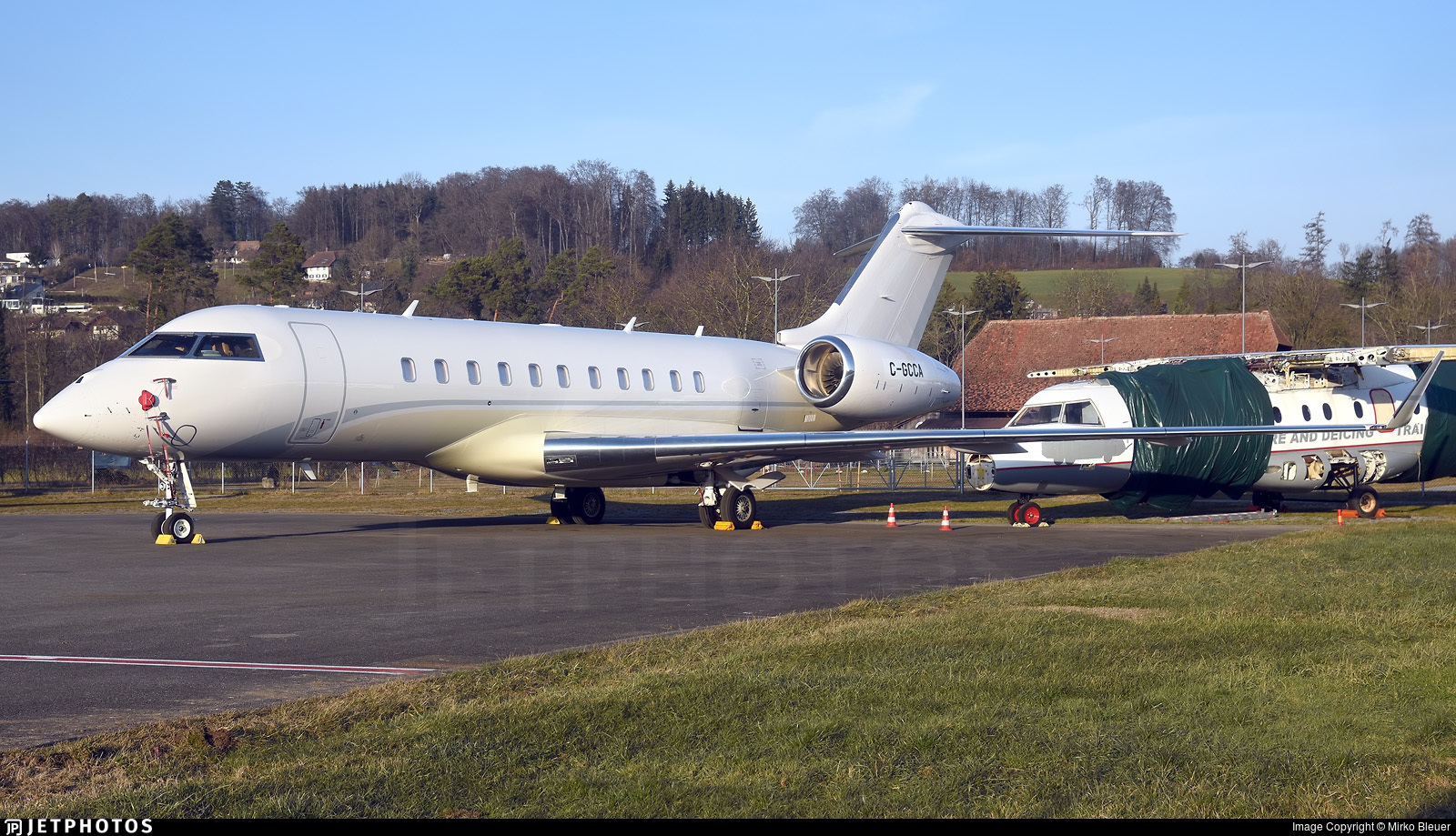C-GCCA - Bombardier BD-700-1A11 Global 5000 - Private