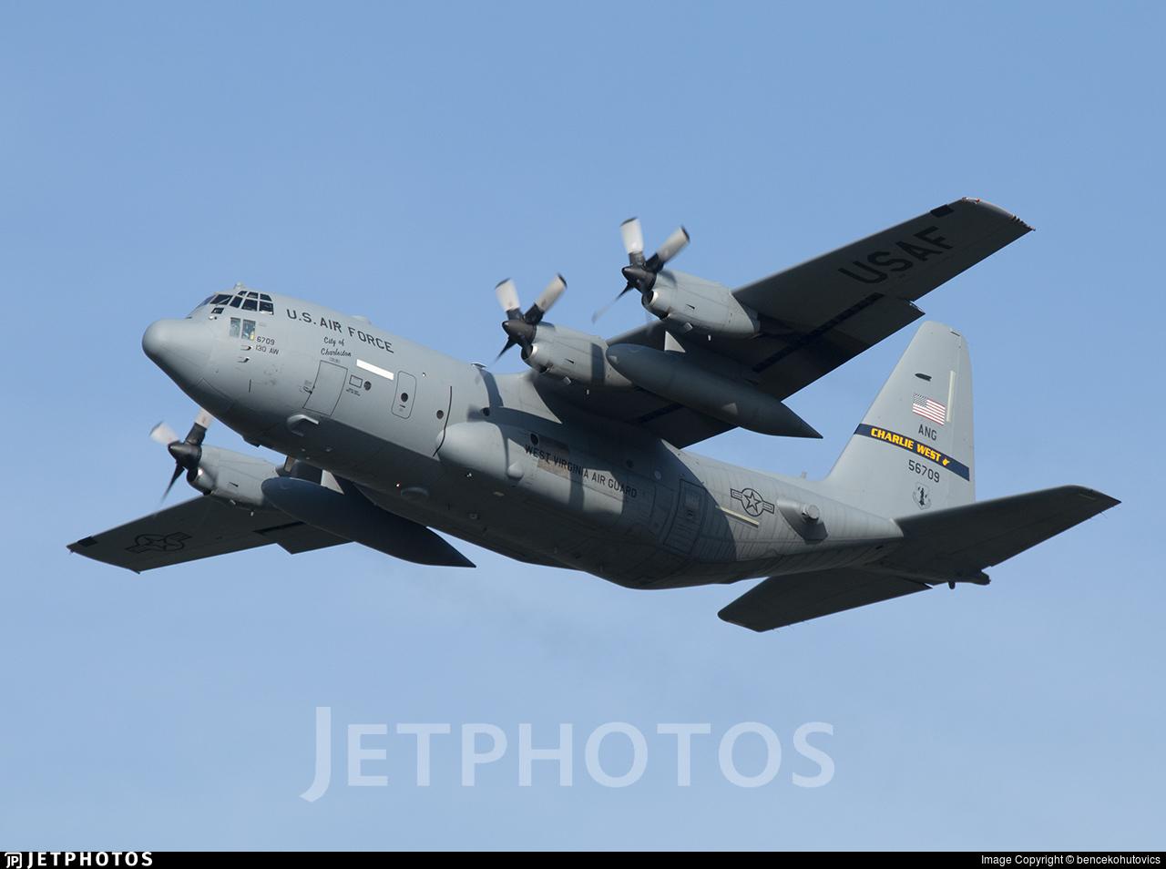 95-6709 - Lockheed C-130H Hercules - United States - US Air Force (USAF)