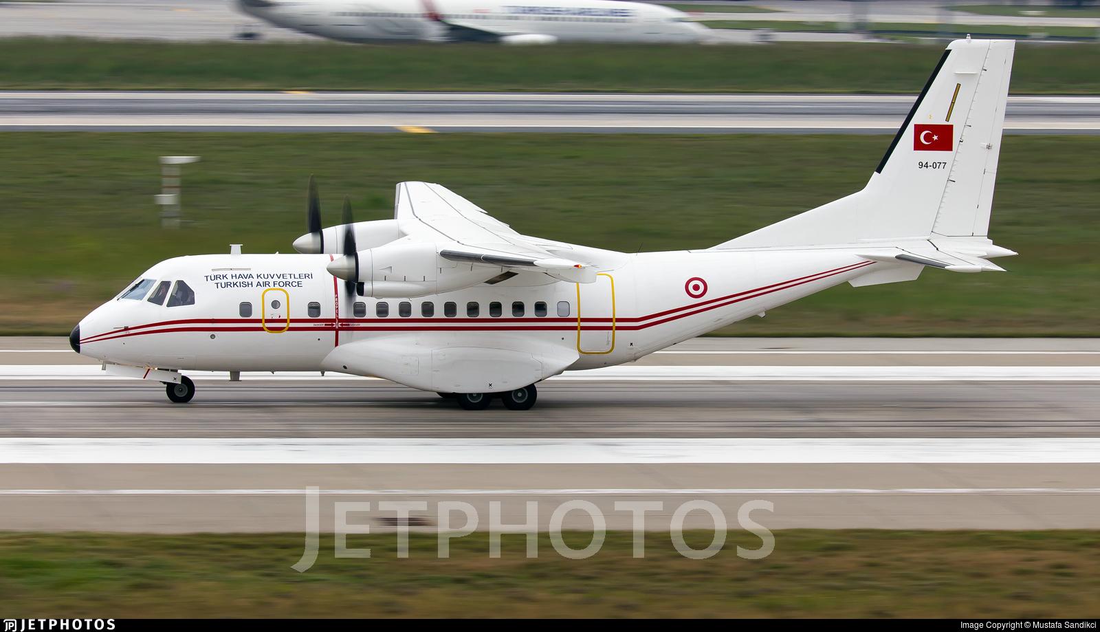 94-077 - CASA CN-235-100 - Turkey - Air Force