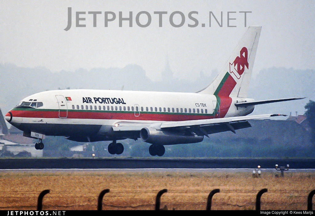 CS-TEK - Boeing 737-282(Adv) - TAP Air Portugal