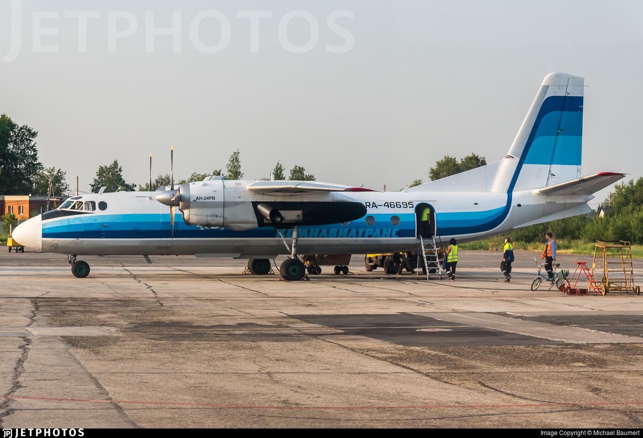 RA-46695 - Antonov An-24RV - Komiaviatrans