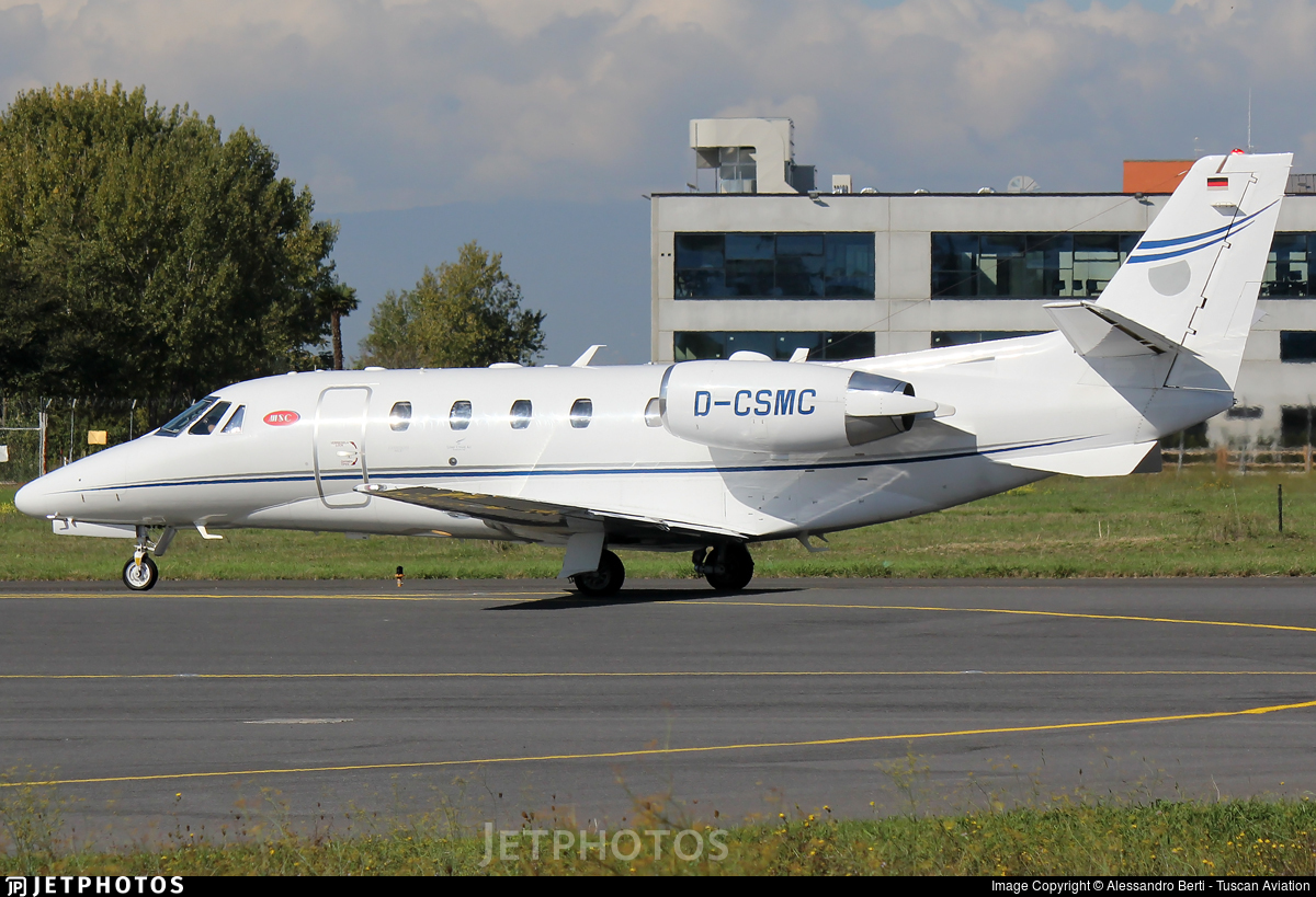 D-CSMC - Cessna 560XL Citation XLS+ - Silver Cloud Air
