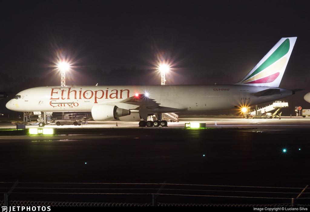 ET-AJX - Boeing 757-260(PCF) - Ethiopian Cargo