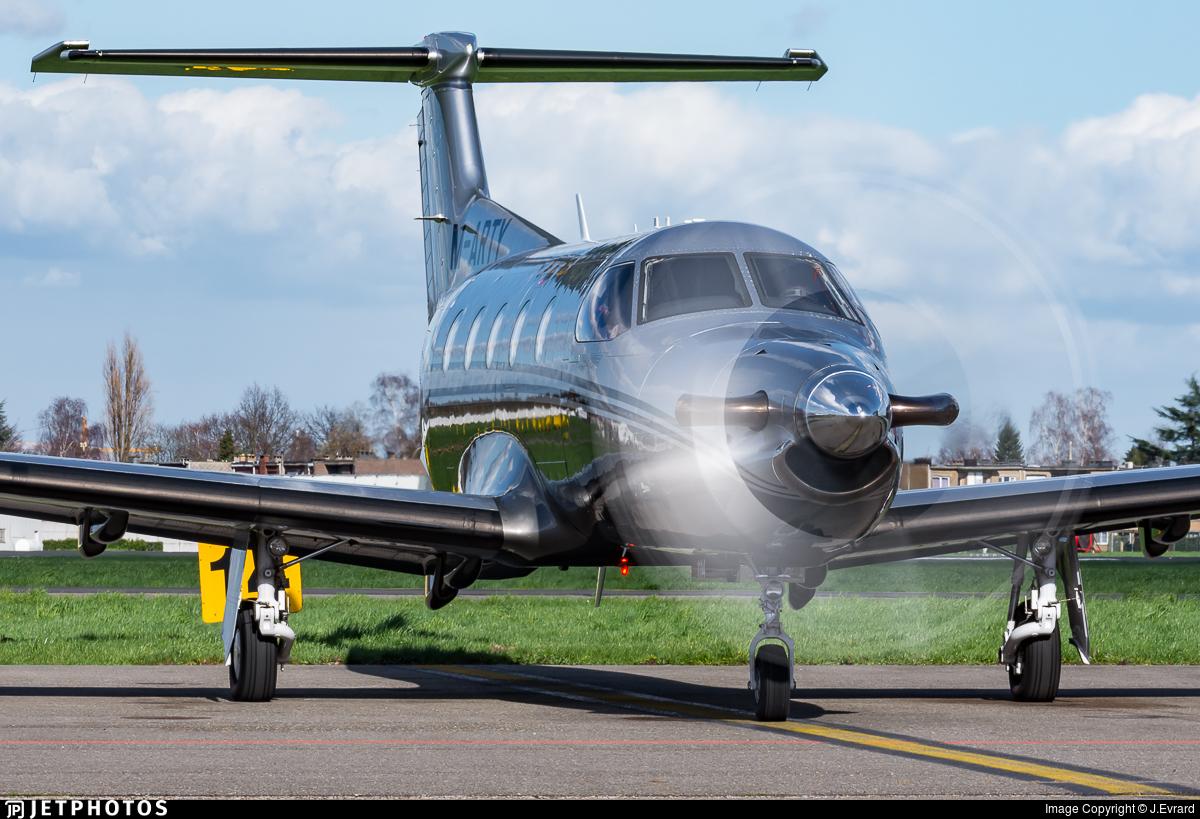 M-ARTY - Pilatus PC-12/47E - Private
