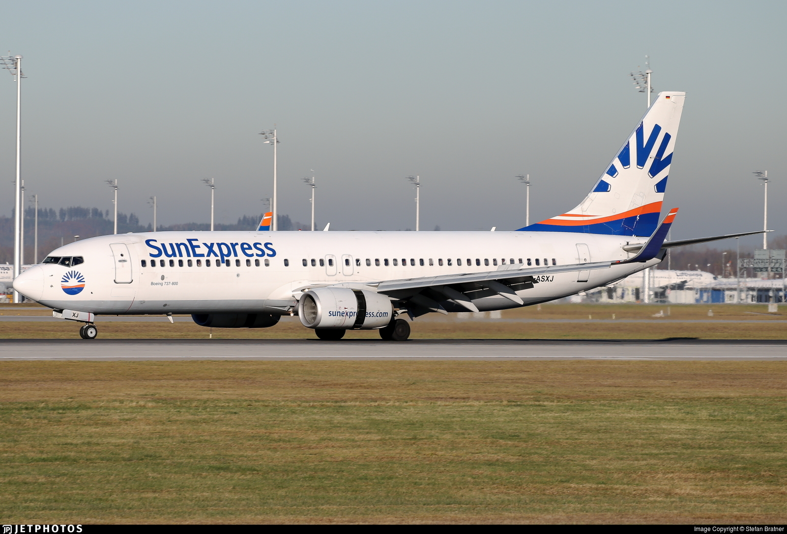 D-ASXJ - Boeing 737-86N - SunExpress Germany