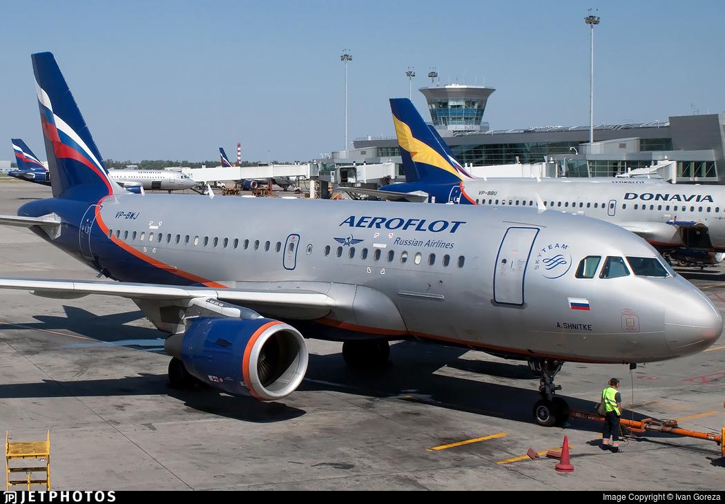 VP-BWJ - Airbus A319-111 - Aeroflot