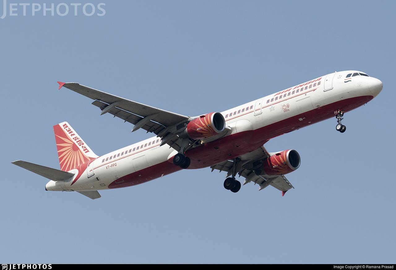 VT-PPQ - Airbus A321-211 - Air India