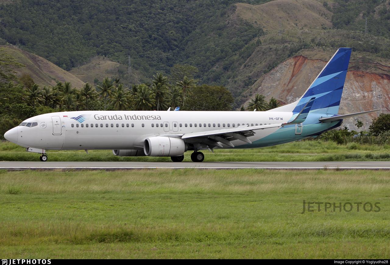 PK-GFW - Boeing 737-8U3 - Garuda Indonesia