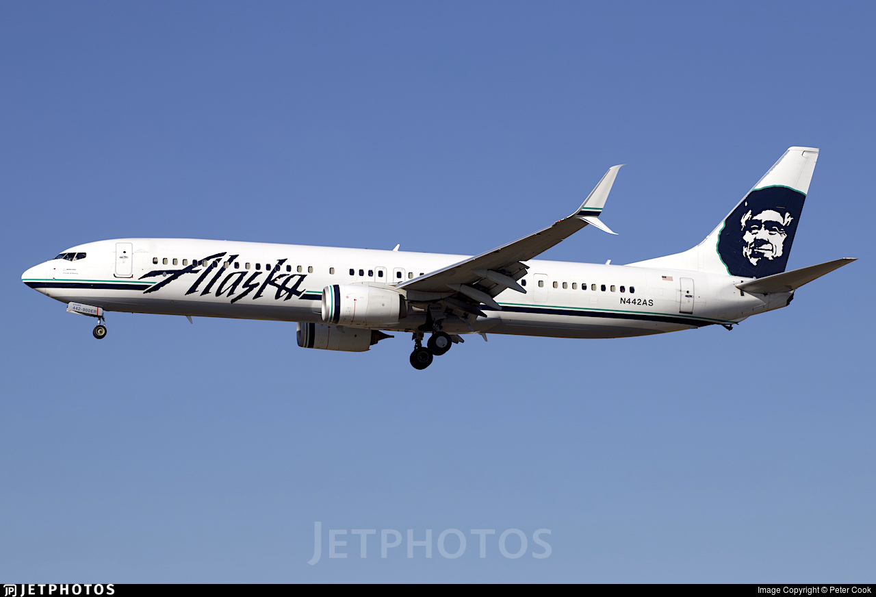 N442AS - Boeing 737-990ER - Alaska Airlines