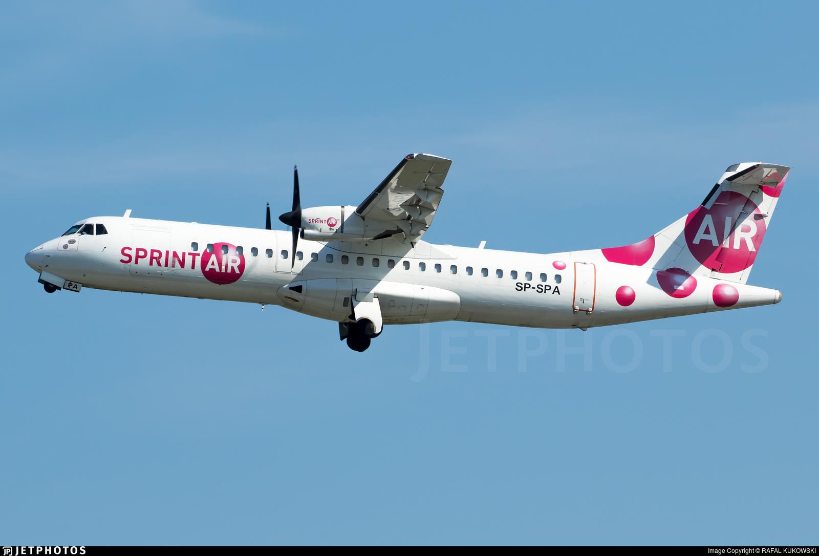 SP-SPA - ATR 72-202(F) - SprintAir