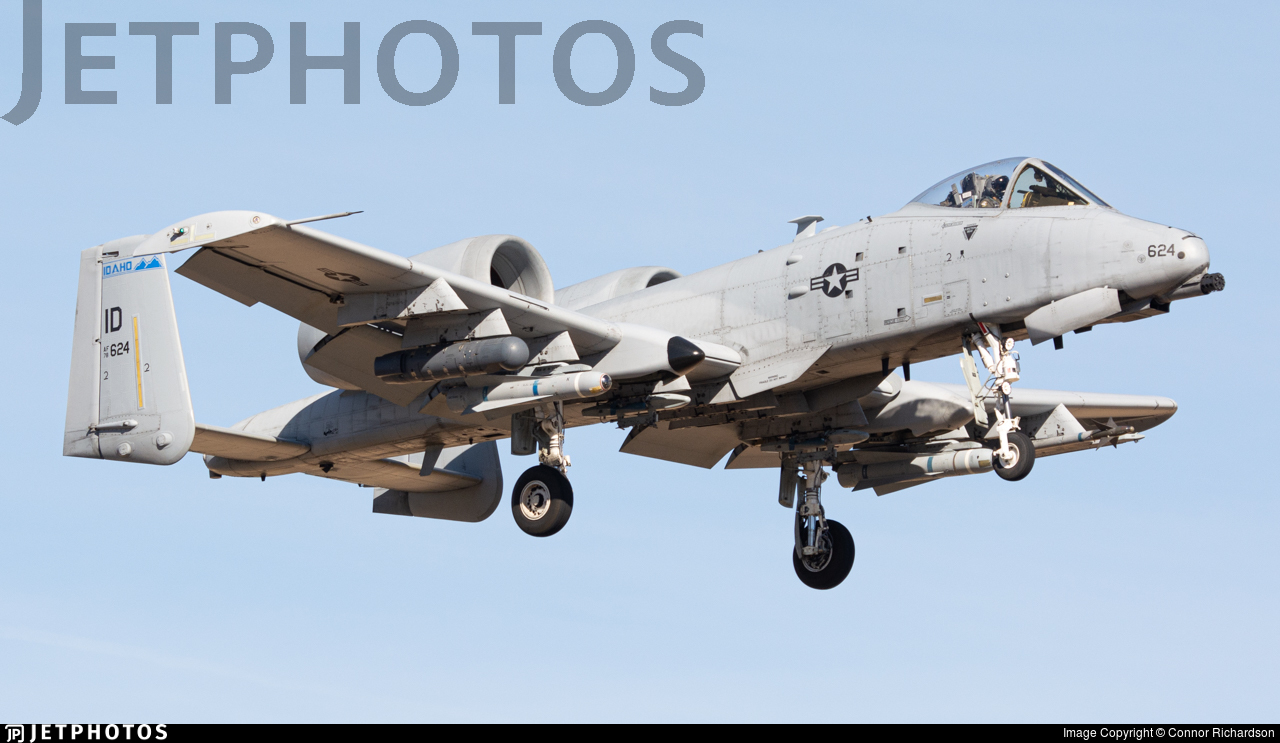 78-0624 - Fairchild A-10C Thunderbolt II - United States - US Air Force (USAF)