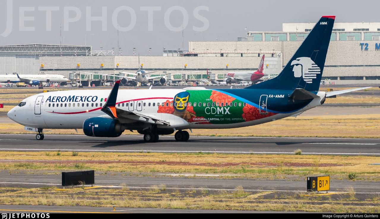 XA-AMM - Boeing 737-852 - Aeromexico