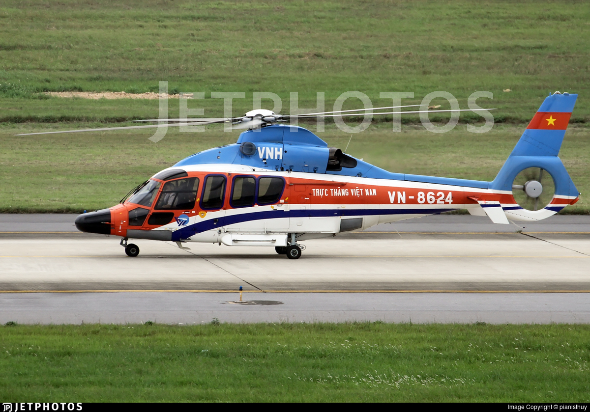 VN-8624 - Eurocopter EC 155B1 Kocoglu - Vietnam - Air Force