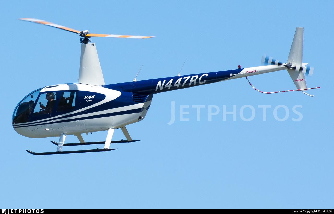 N447RC - Robinson R44 Astro - Private