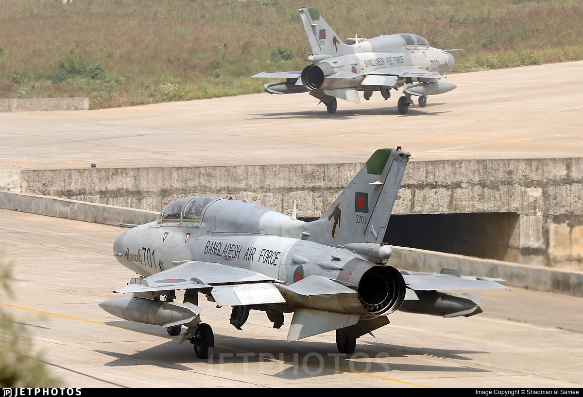 2701 - Chengdu FT-7BGI - Bangladesh - Air Force