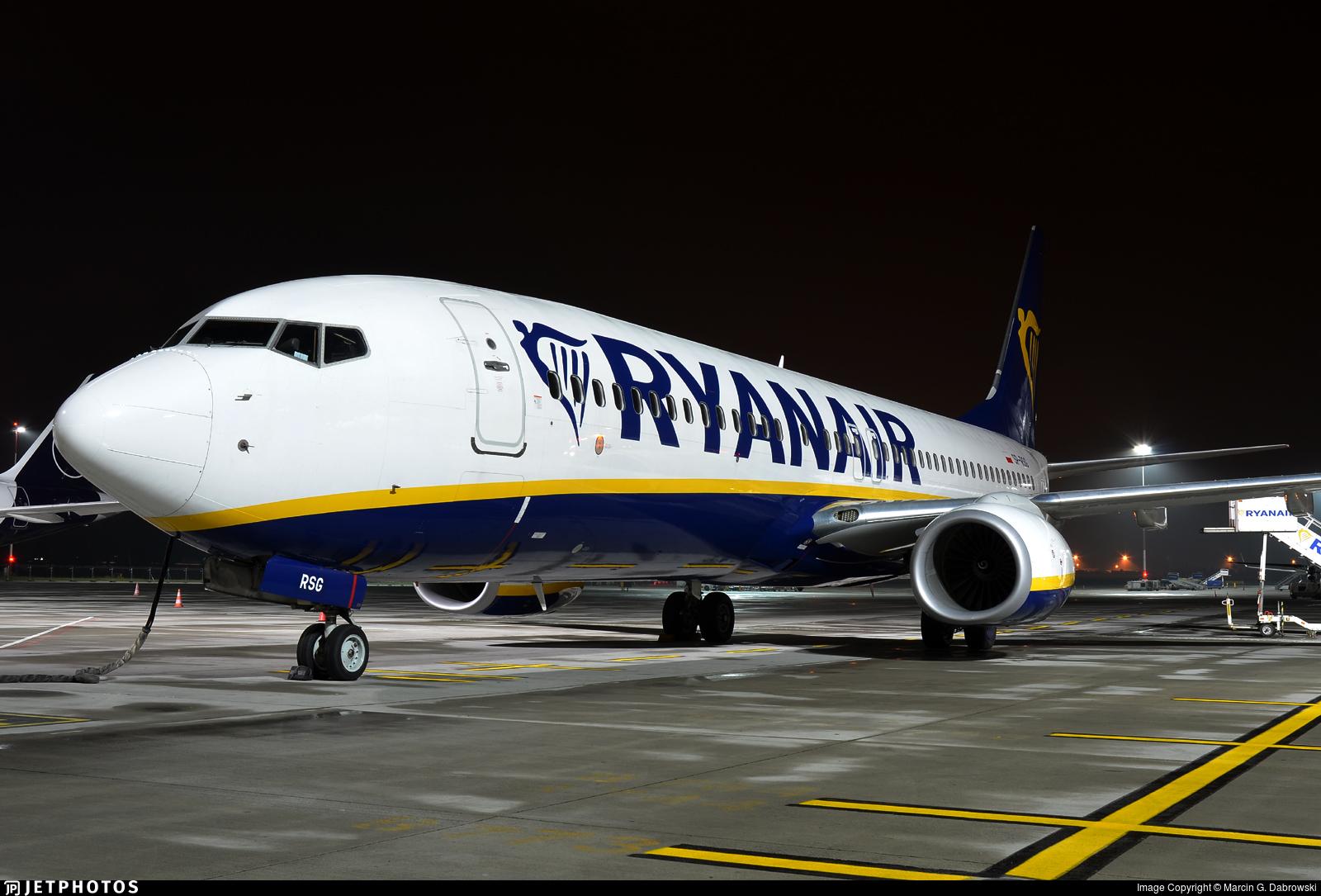 SP-RSG - Boeing 737-8AS - Ryanair Sun
