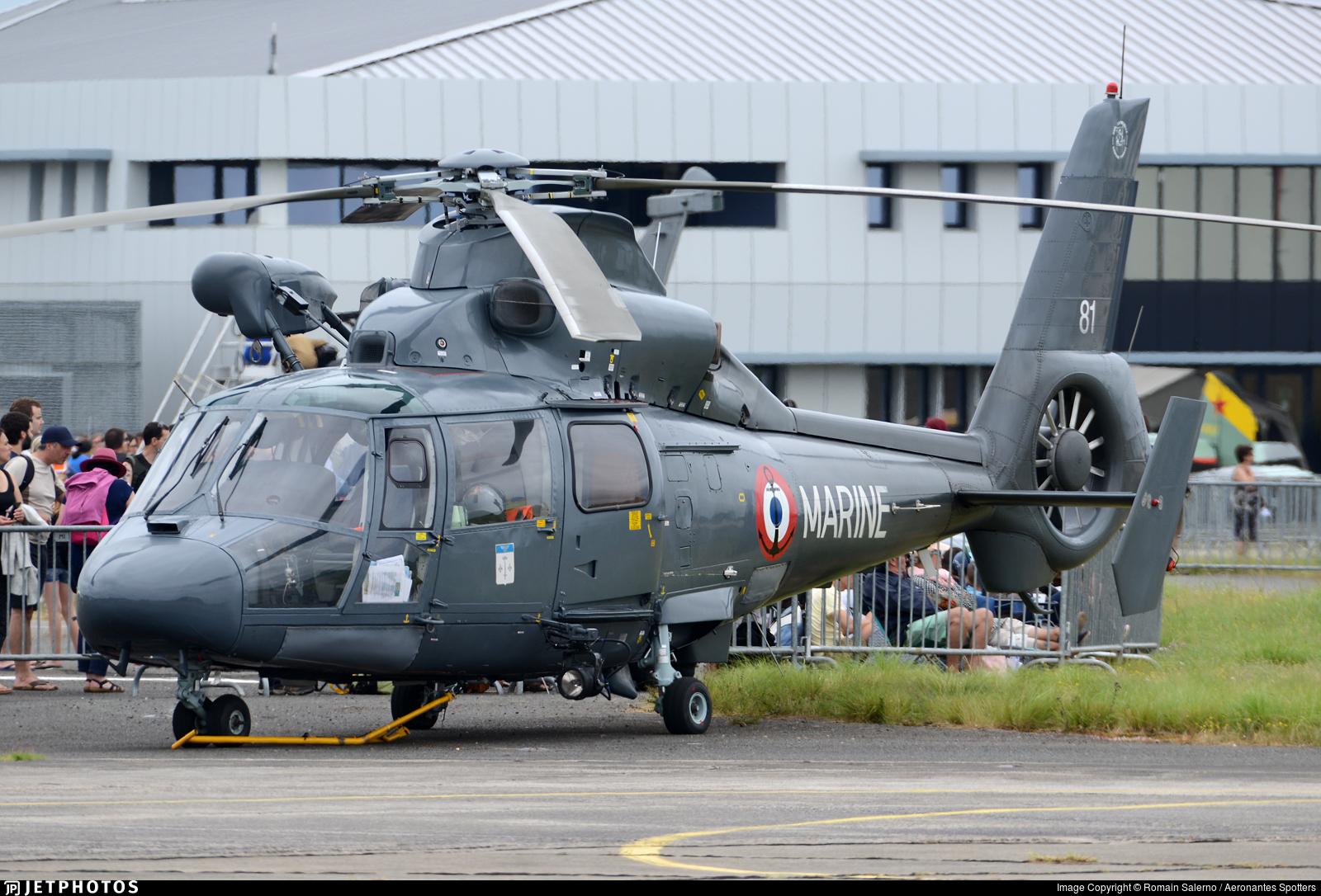 81 - Aérospatiale SA 365N Dauphin 2 - France - Navy