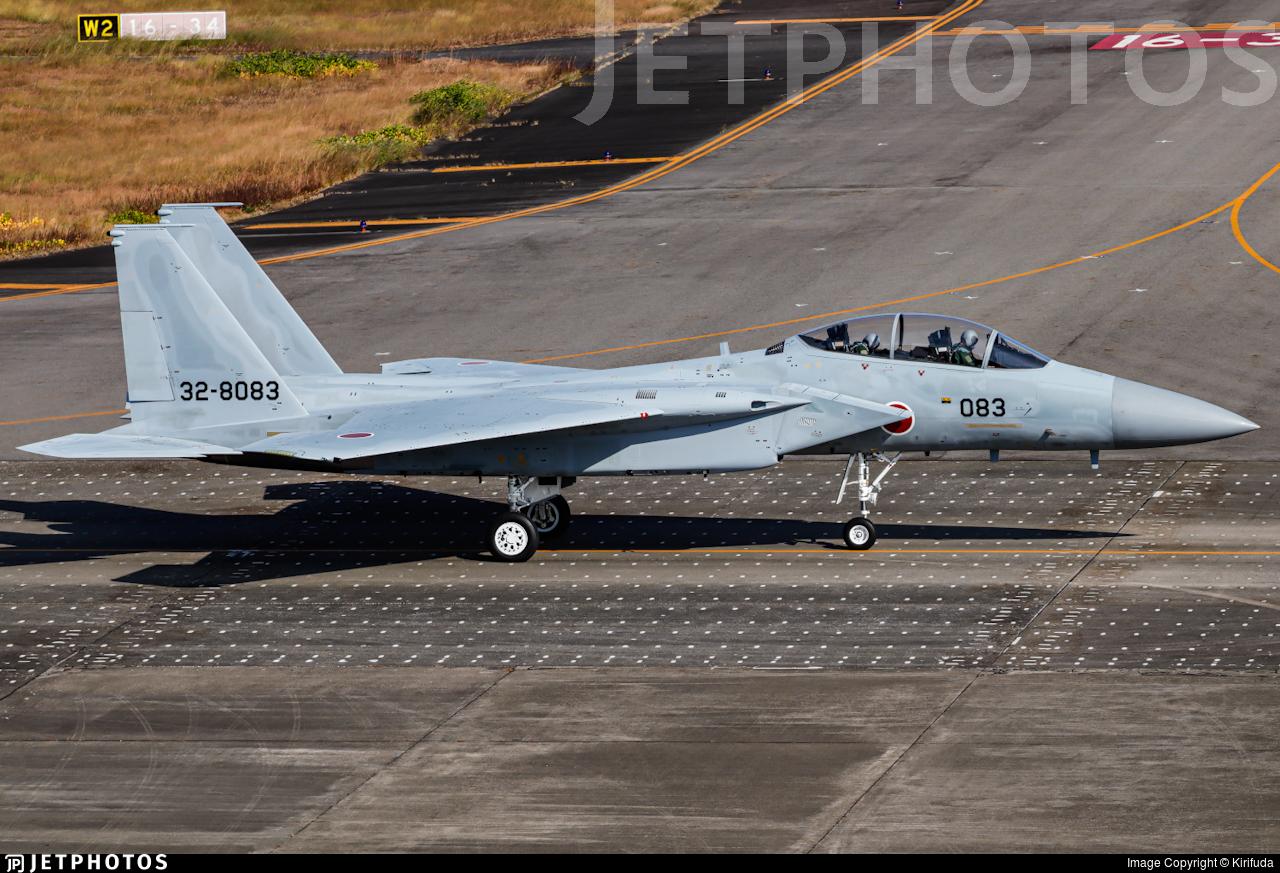 32-8083 - McDonnell Douglas F-15DJ Eagle - Japan - Air Self Defence Force (JASDF)