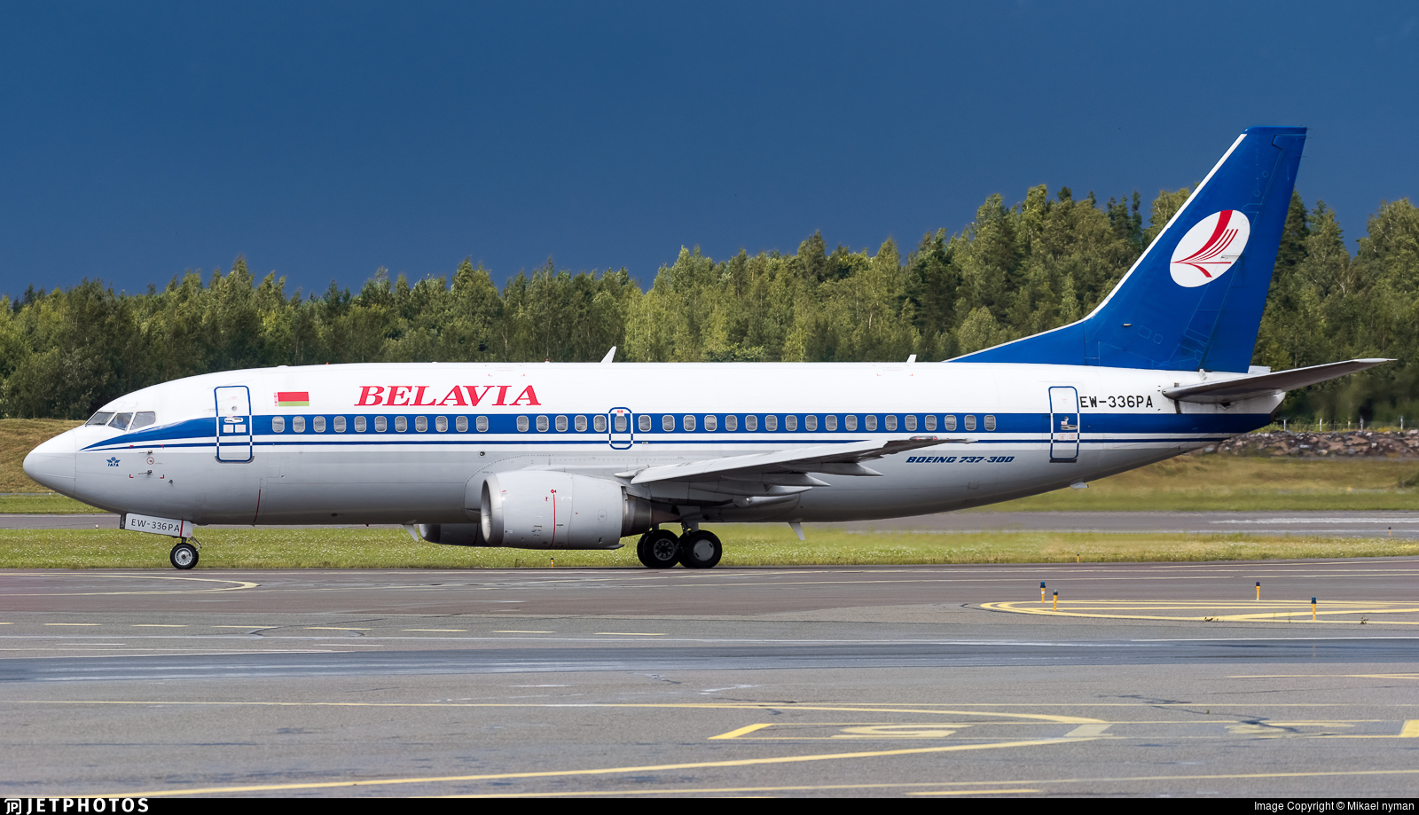 EW-336PA - Boeing 737-3Q8 - Belavia Belarusian Airlines