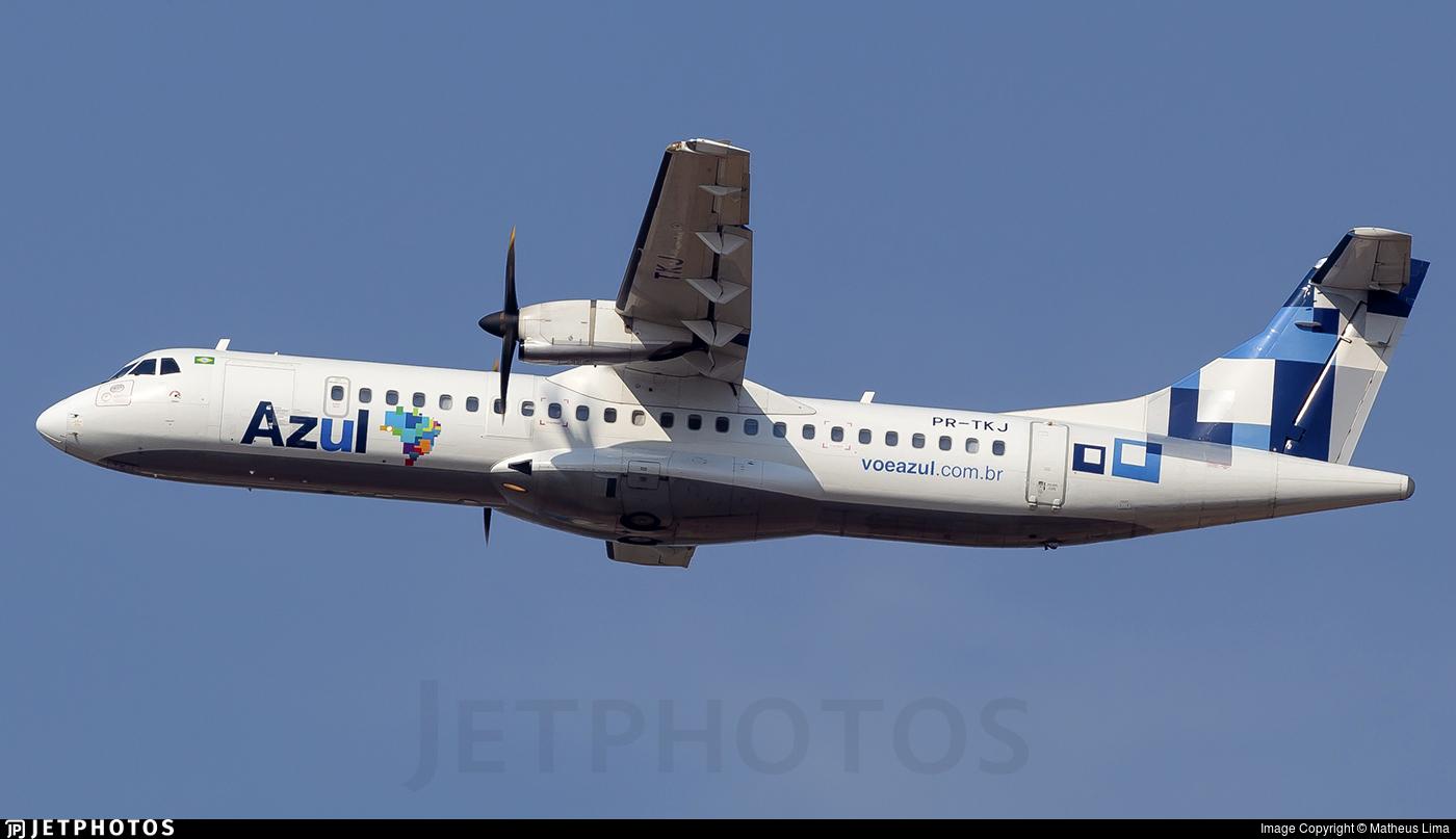 PR-TKJ - ATR 72-212A(600) - Azul Linhas Aéreas Brasileiras