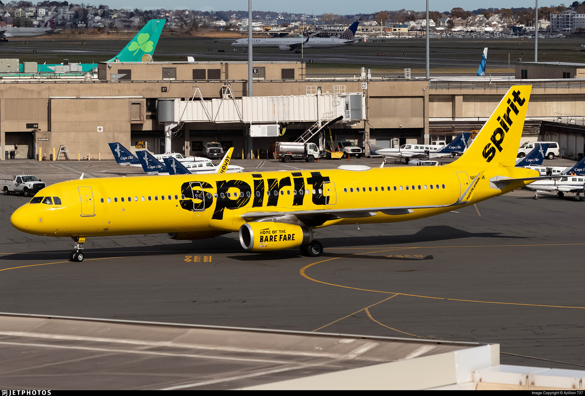 N680NK - Airbus A321-231 - Spirit Airlines