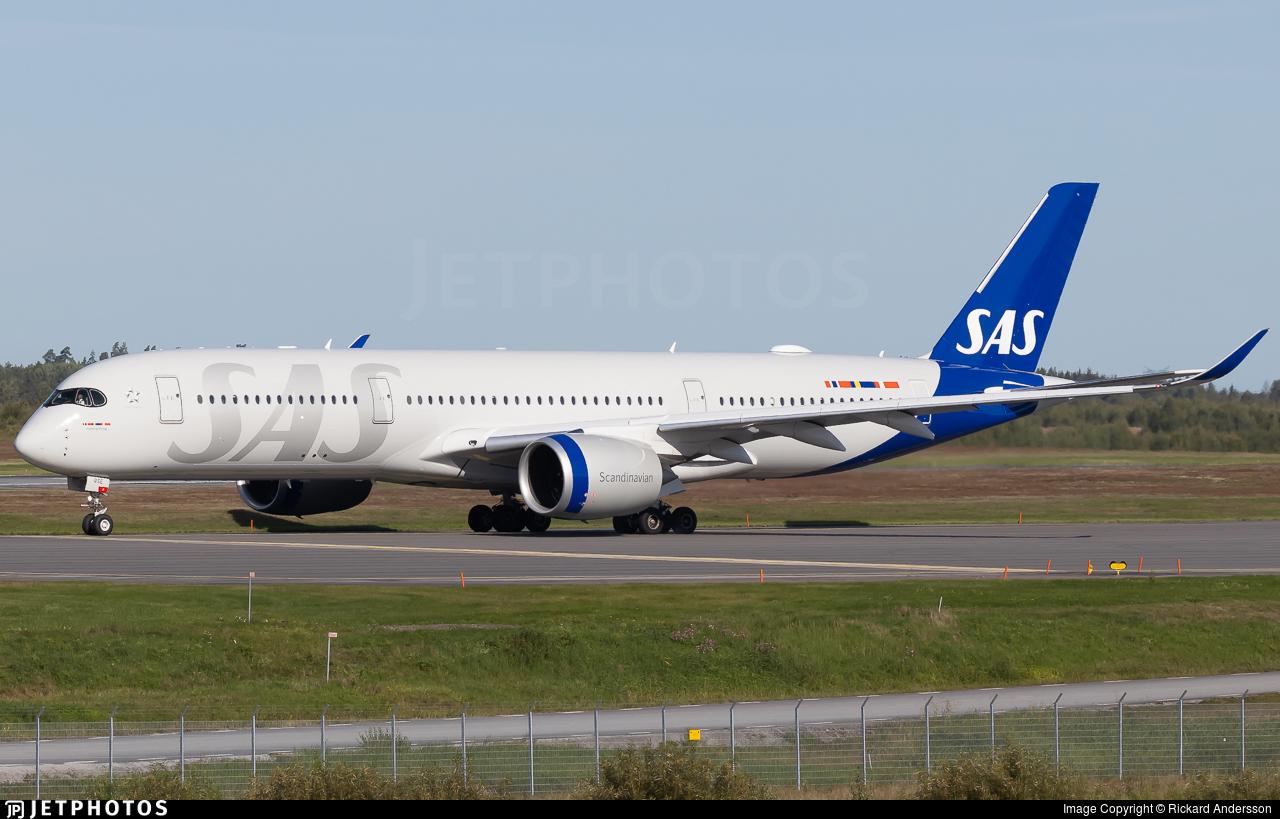 SE-RSE - Airbus A350-941 - Scandinavian Airlines (SAS)