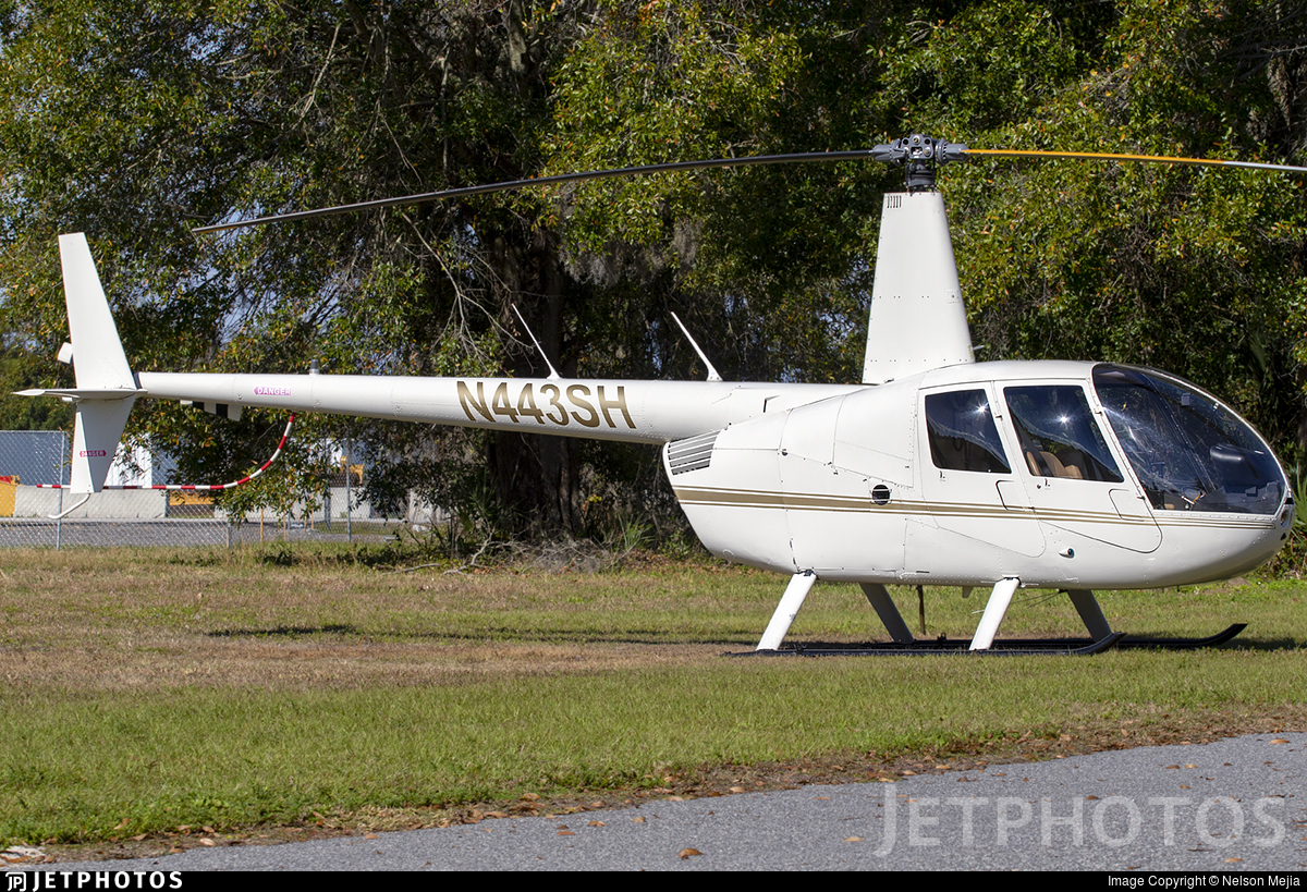 N443SH - Robinson R44 Raven II - Private
