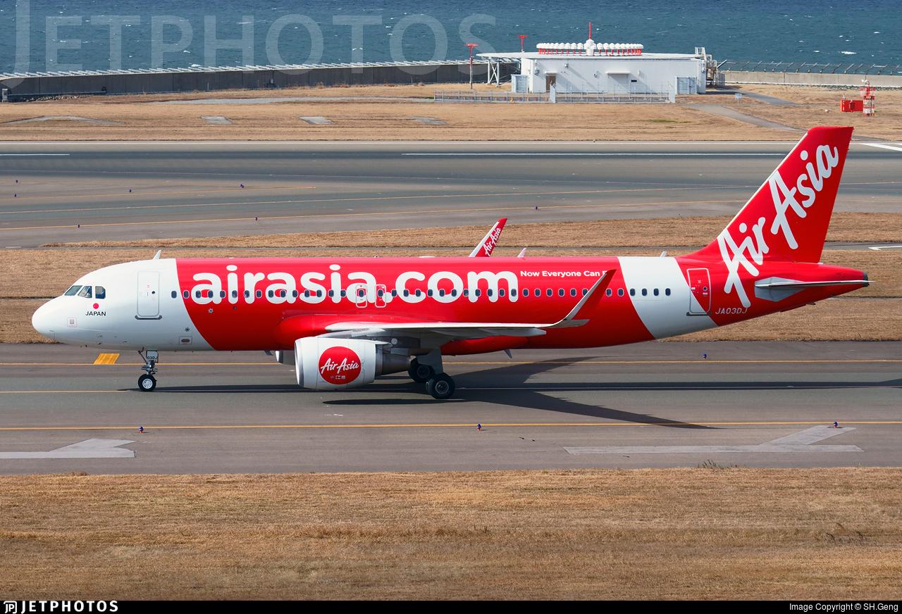 JA03DJ - Airbus A320-216 - AirAsia Japan