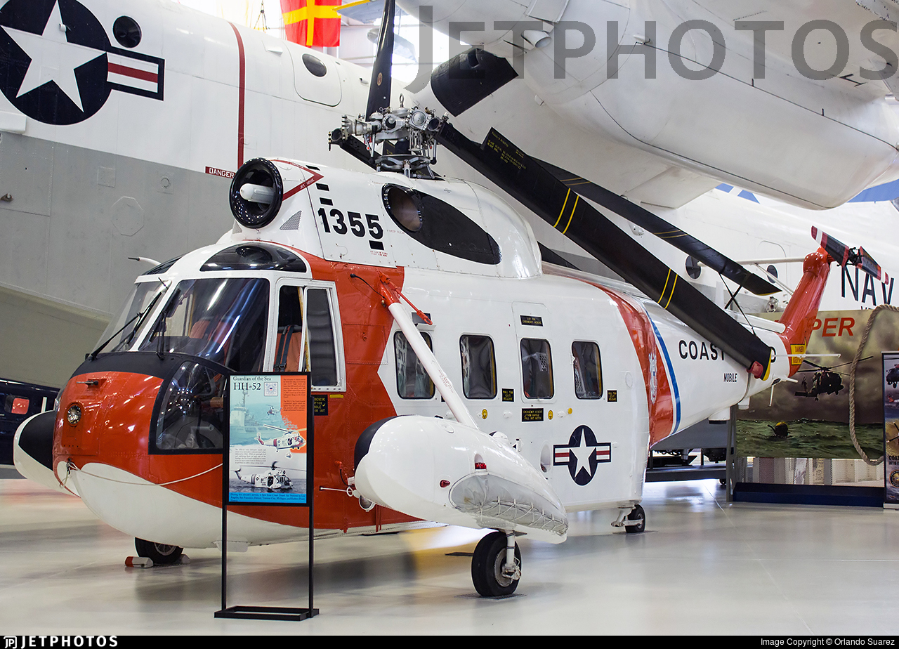 1355 - Sikorsky HH-52A Sea Guard - United States - US Coast Guard (