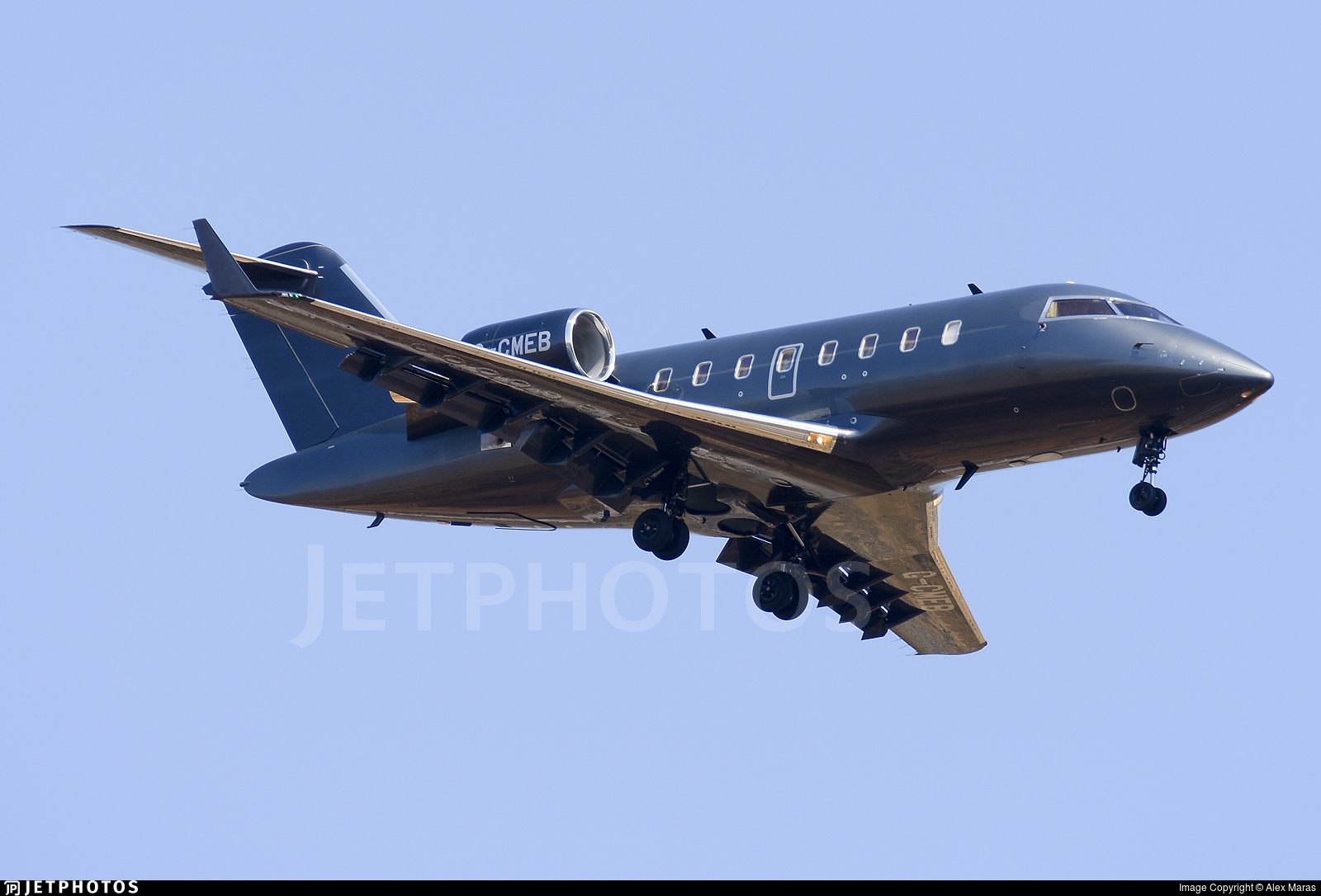 G-CMEB - Bombardier CL-600-2B16 Challenger 605 - London Executive Aviation