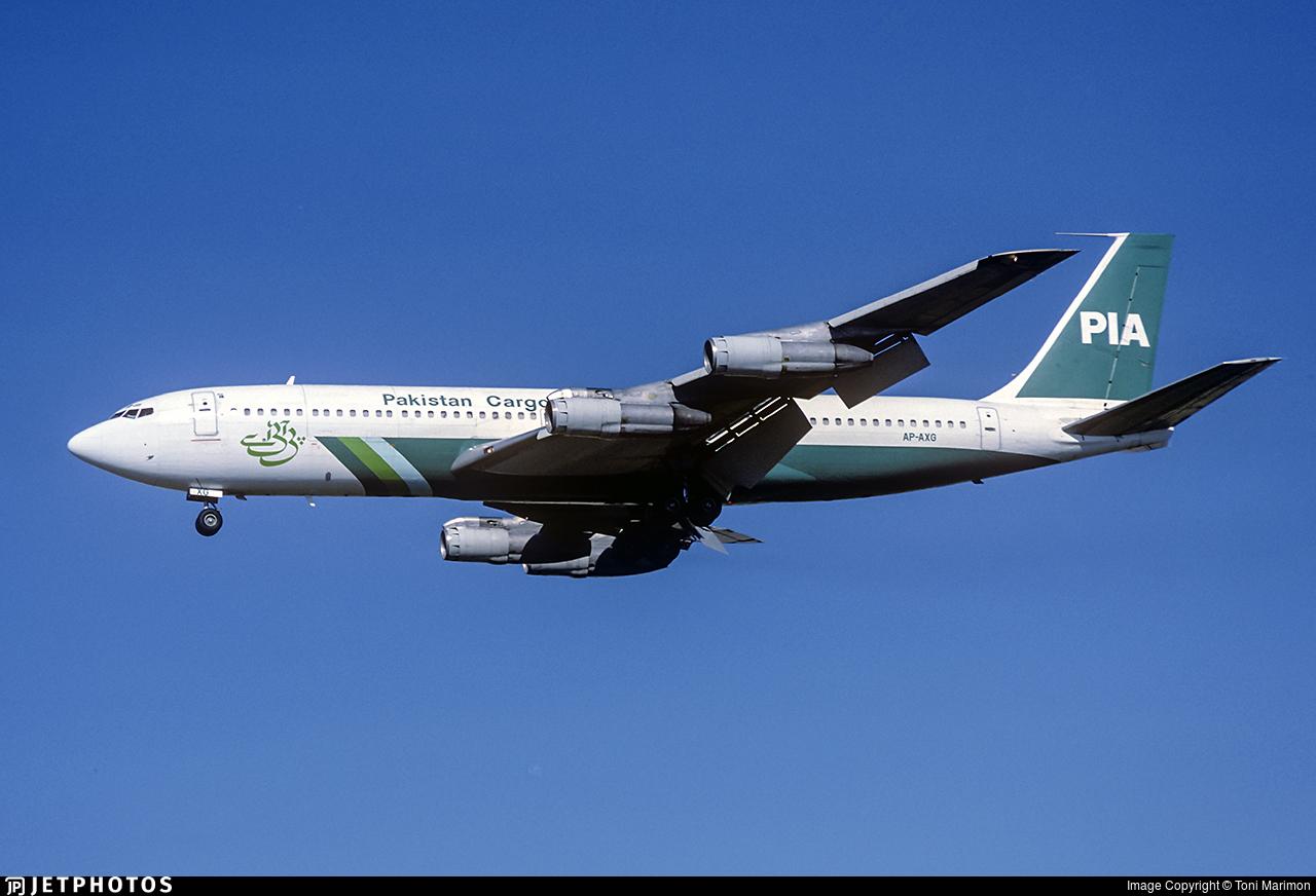 AP-AXG - Boeing 707-340C - Pakistan International Airlines (PIA)