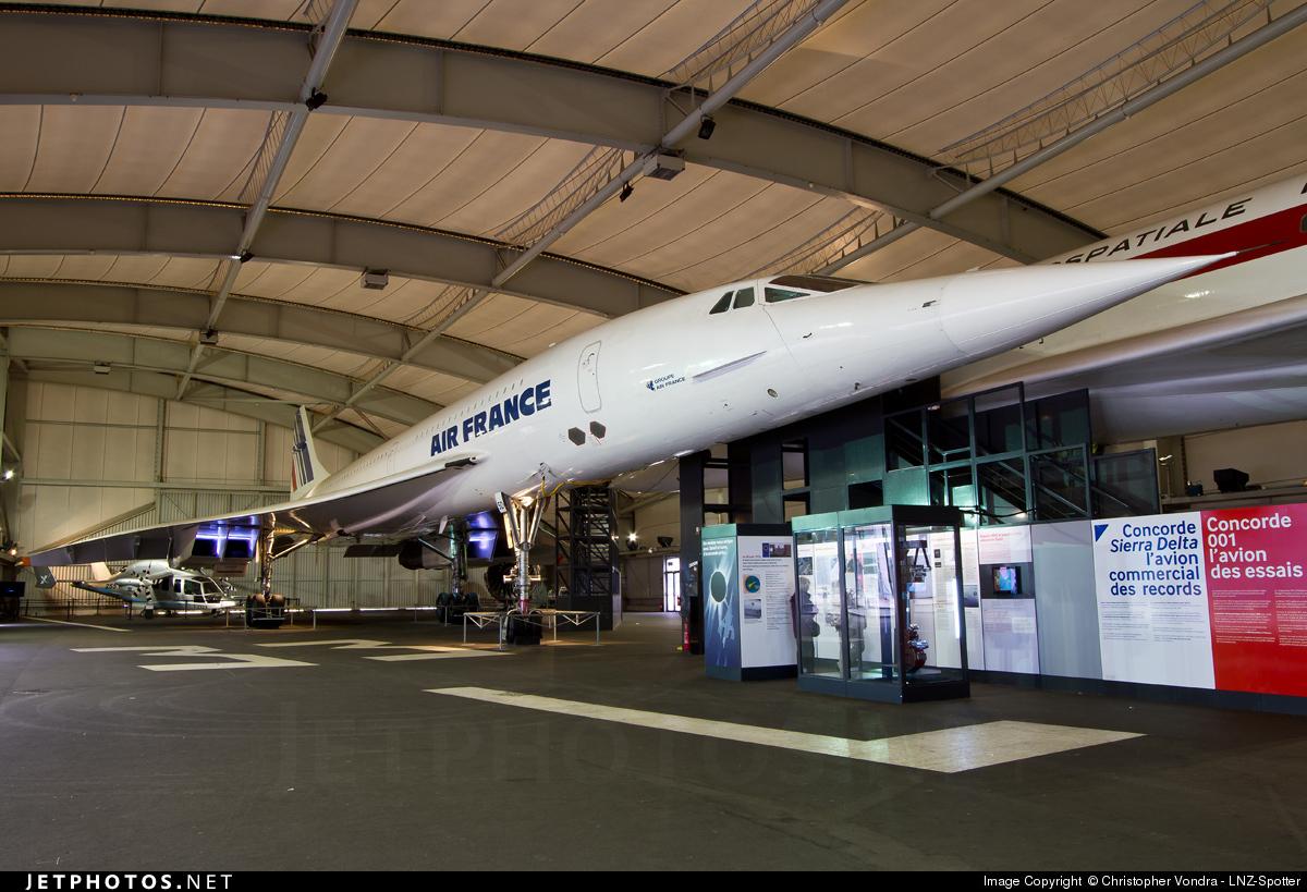 F-BTSD - Aérospatiale/British Aircraft Corporation Concorde - Air France