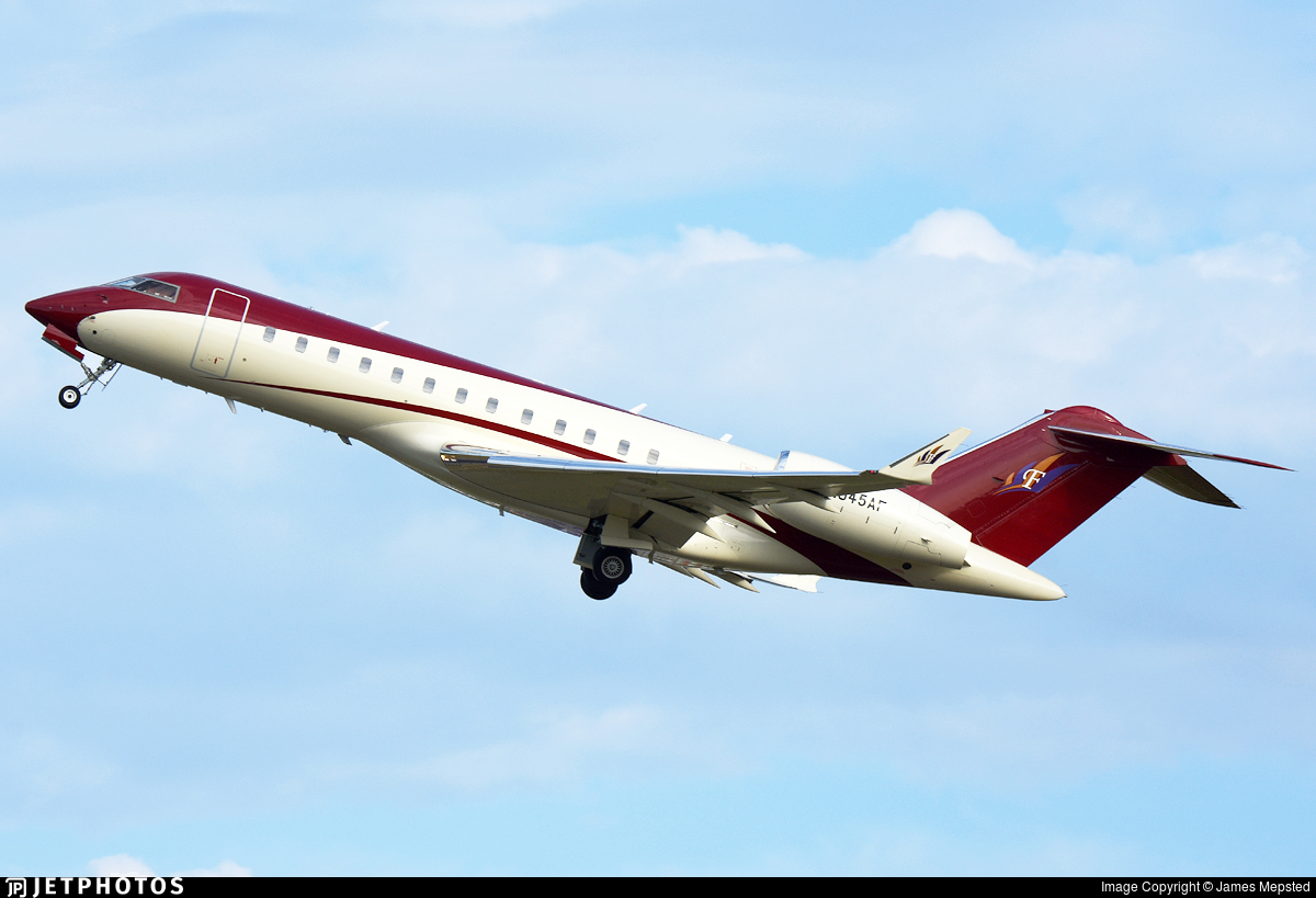 N945AF - Bombardier BD-700-1A10 Global Express - Private