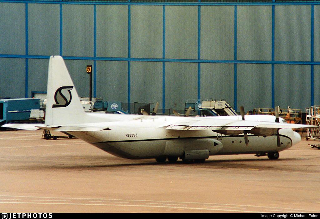 N923SJ - Lockheed L-100-30 Hercules - Southern Air Transport (SAT)