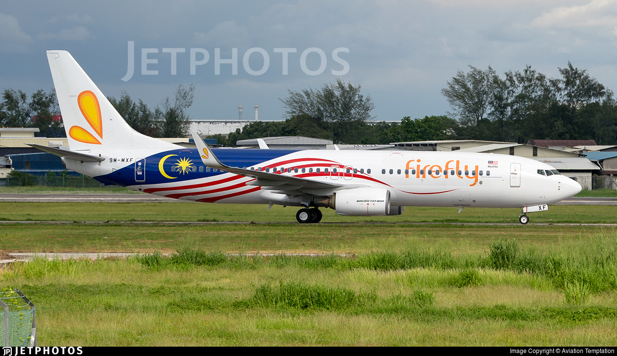 9M-MXF - Boeing 737-8H6 - Firefly